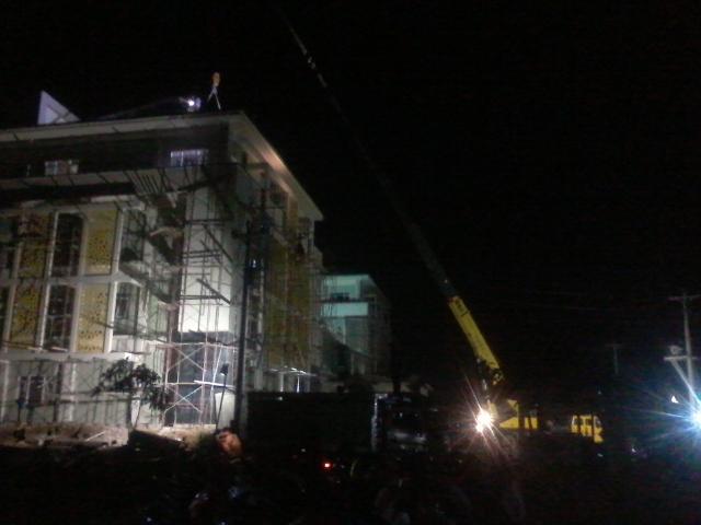 Pembangunan Gedung FTIK Pekalongan Hampir Selesai