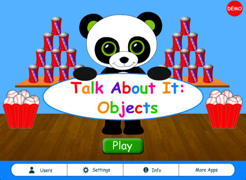 Talk About It: Objects Main Page