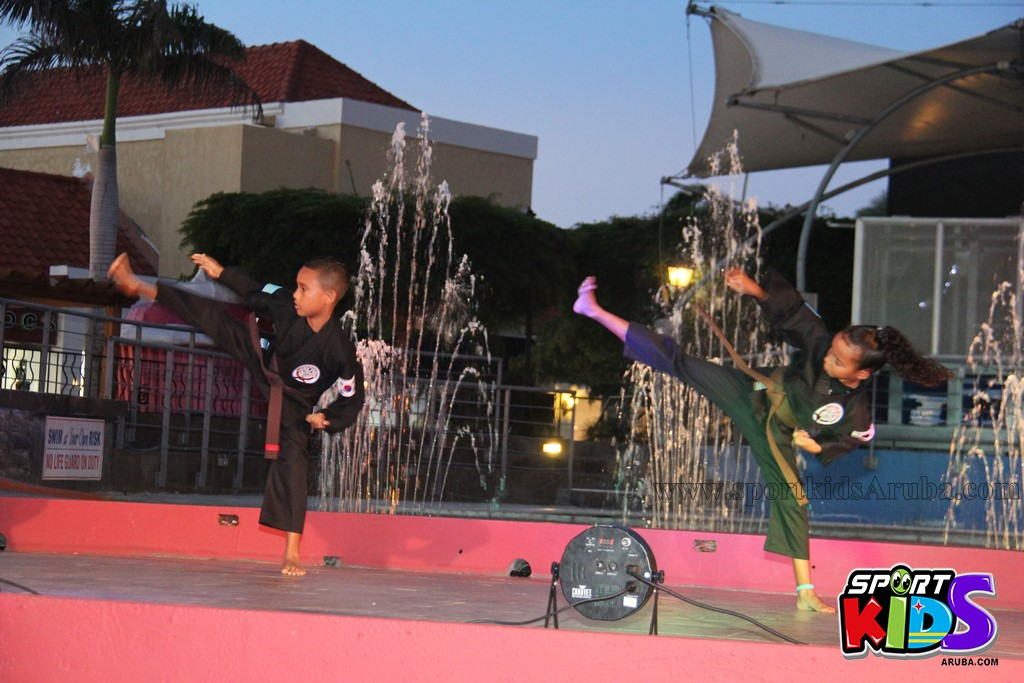 show di nos Reina Infantil di Aruba su carnaval Jaidyleen Tromp den Tang Soo Do - IMG_8614.JPG