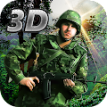 Jungle Commando 3D: Shooter 1.5 icon