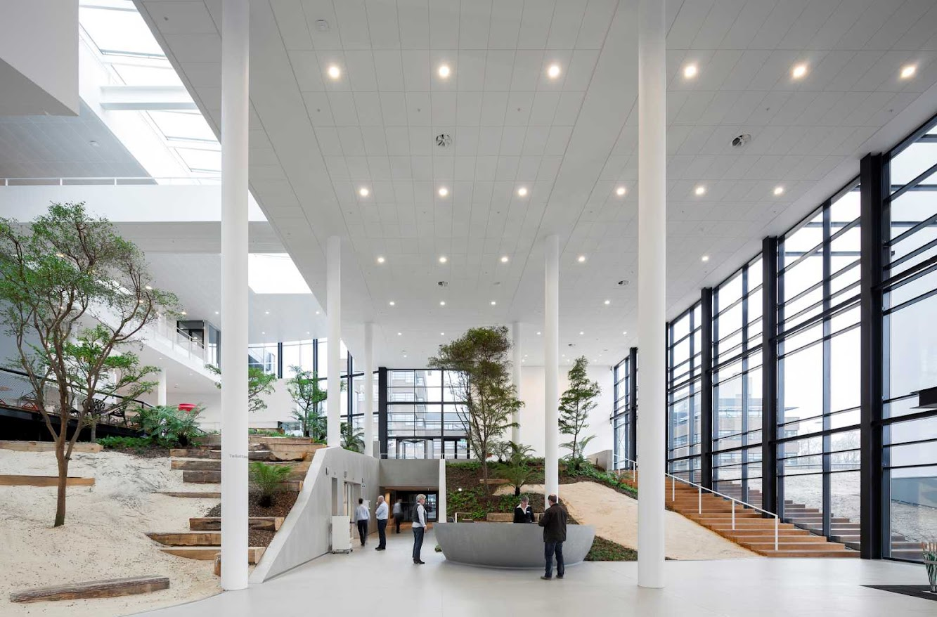 Conference Center by Adp Architects