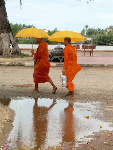 Monks, Cambodia. The Definitive Guide to Moving to Southeast Asia: Cambodia
