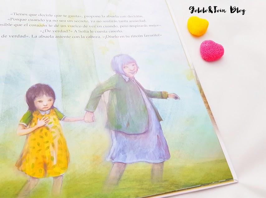 La importancia de los abuelos en los cuentos. Me haces feliz, de ediciones Uranito