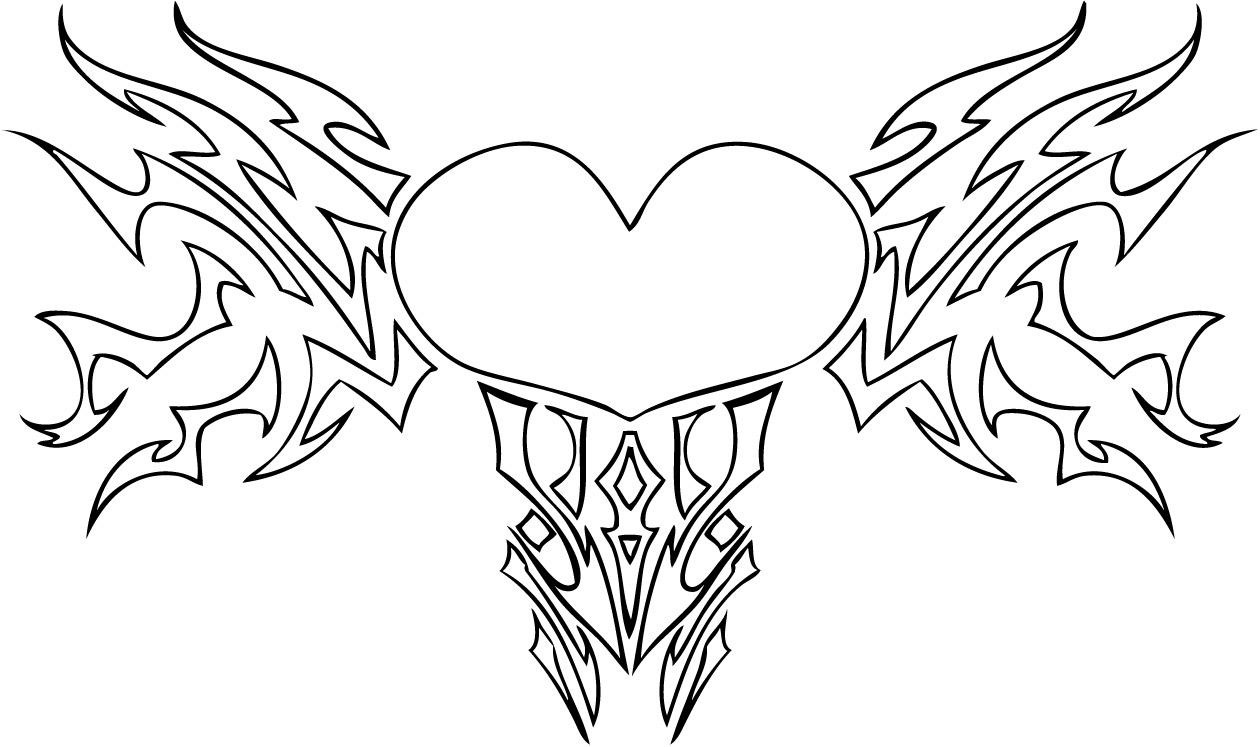 wings coloring pages printable hearts with wings coloring pages inside hearts with wings coloring pages jpg