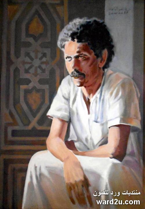 الفنان الواقعى المصرى زهران سلامه Zahran salama