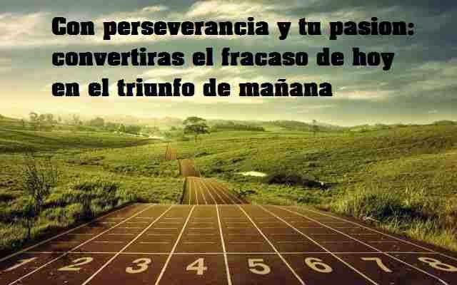 Perseverancia y autoestima