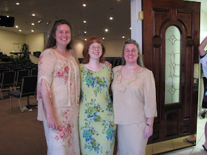 Ann and Susan with Kerri, who was our photographer for this service! She did a great job!