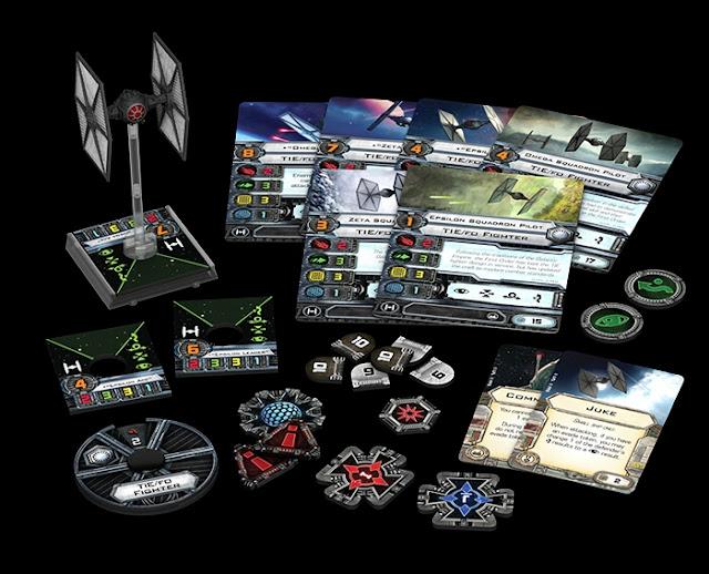 TIE/FO expansión del X-Wing miniature games