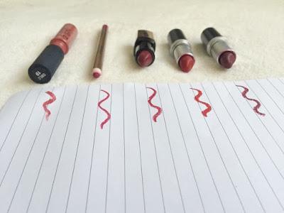 The best autumn lipsticks swatches