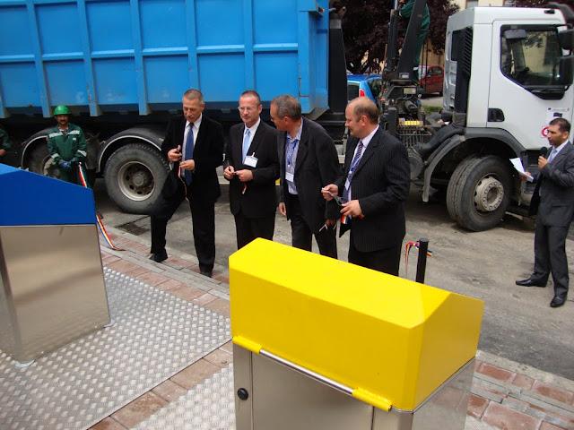 Inaugurarea, la Medias, a primului punct subteran pt. colectarea deseurilor de ambalaje din Romania - DSC06378.JPG