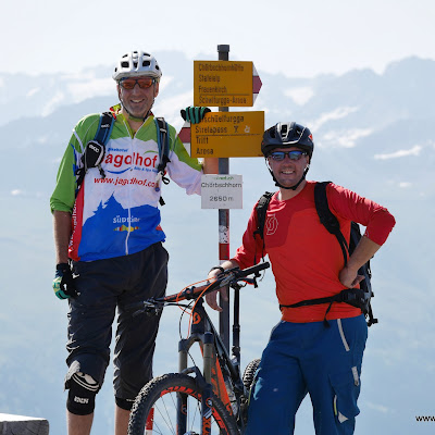 Davos Bahnentour mit Thomi Giger (bikehotels.it trailbiker)