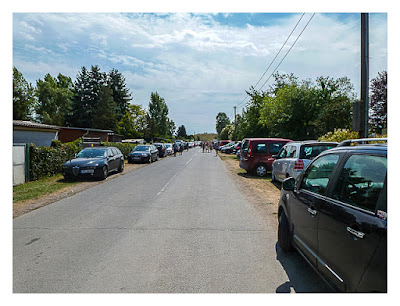 Mega am See 2015 - Die Parkplatzsituation