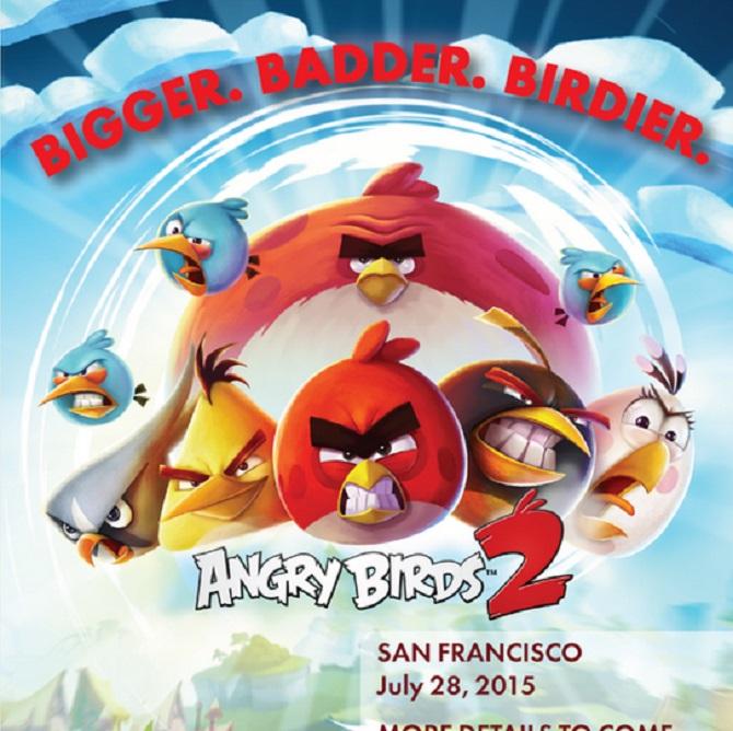 Rovio sẽ phát hành Angry Birds 2 vào ngày 28 tháng 7