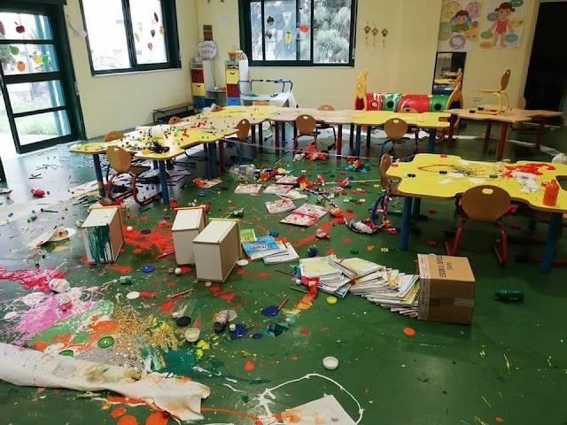 """*Raid vandalico alla scuola dell'infanzia di Salice Arghillà, il sindaco Falcomatà: """"Scempio inaccettabile""""*"""