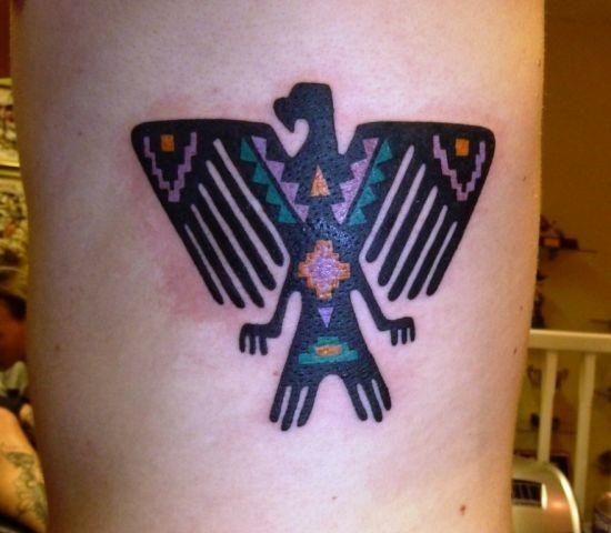 asteca_pssaro_tatuagem