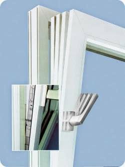 Фиксатор для пластикового окна