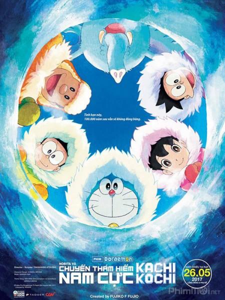 Doraemon: Nobita Và Chuyến Thám Hiểm Nam Cực Kachi Kochi - Doraemon the Movie: Kachi Kochi Nobita's Antarctic Big Adventure 2017
