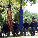 5th MI Color Guard at Mill Race, Northville MI