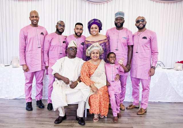 Adesua Etomi Photoshopped Into The Wellington Family Photo After Her Husband Reacted