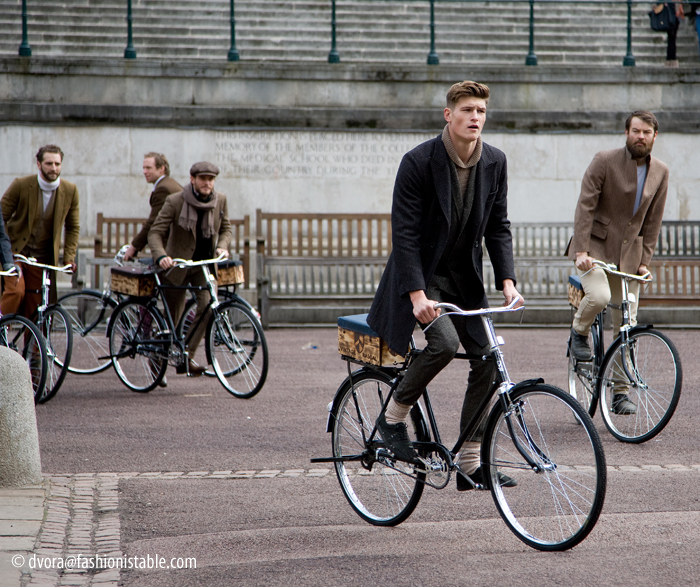 Out and about....Tweed Run 2013 Vintage Rascal