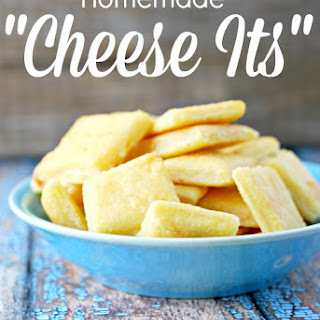 Homemade Cheese Its.