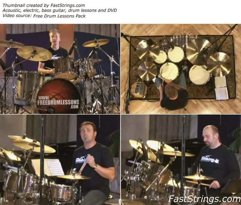 Free Drum Lessons Pack