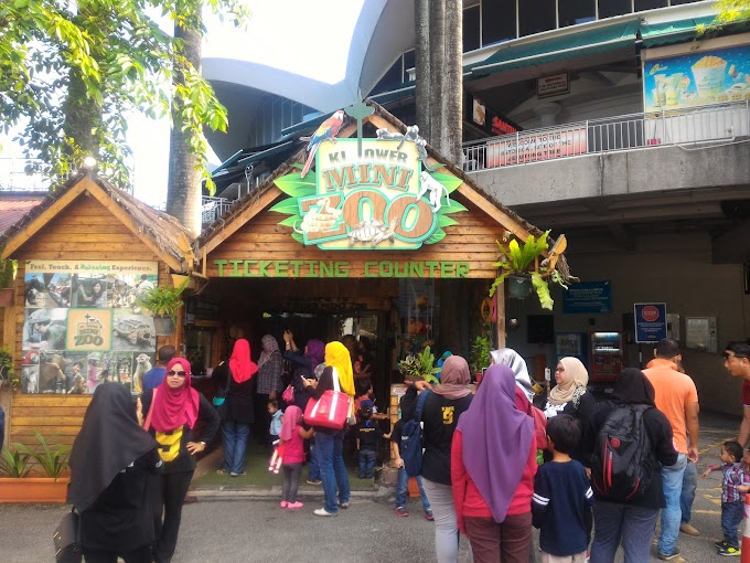 Apa yang menarik di KL Tower Mini Zoo?