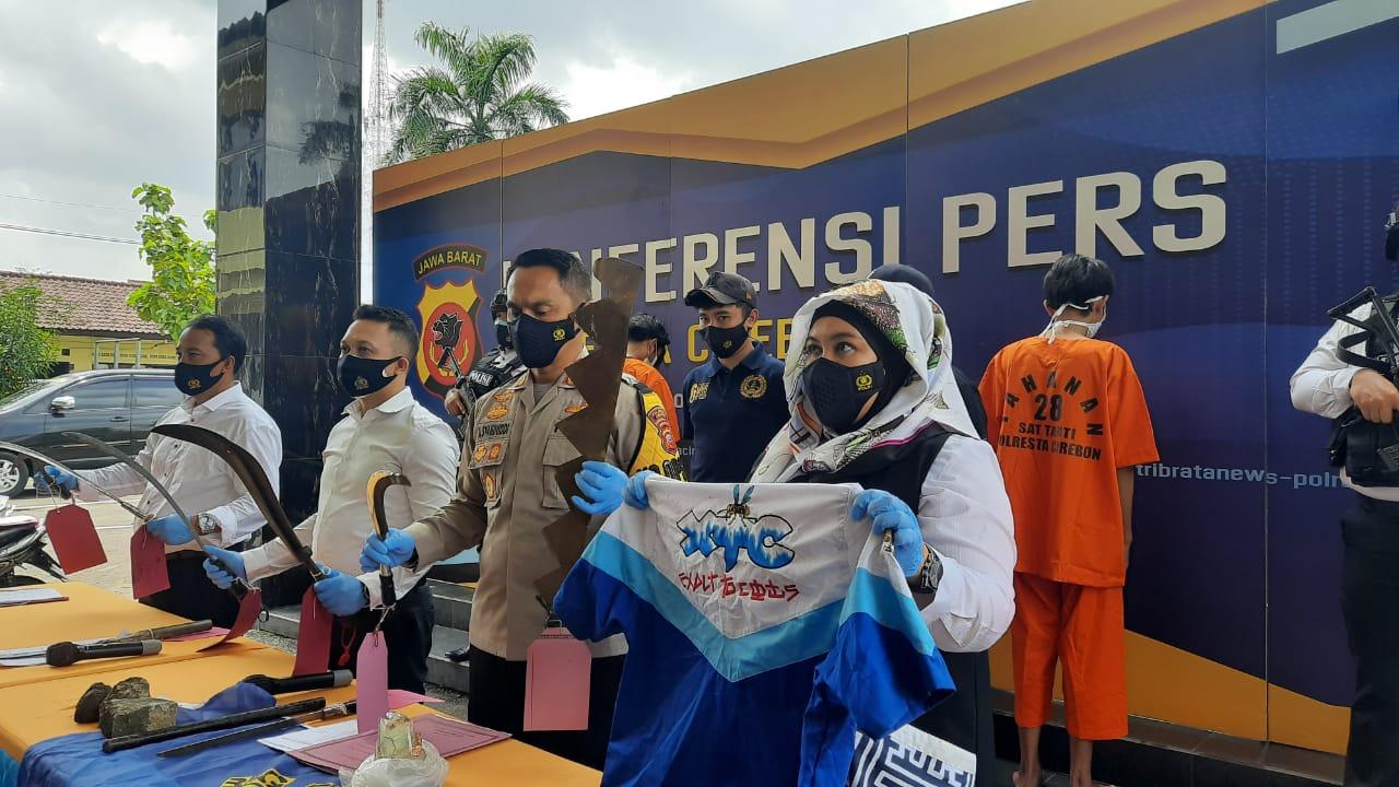 Aniaya Anak di Bawah Umur, Polresta Cirebon Tangkap Empat Anggota Geng Motor