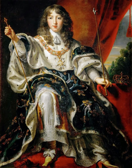 Juste d'Egmont - Portrait of Louis XIV