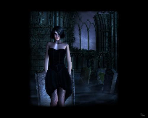 Gothic Night Girl, Gothic Girls