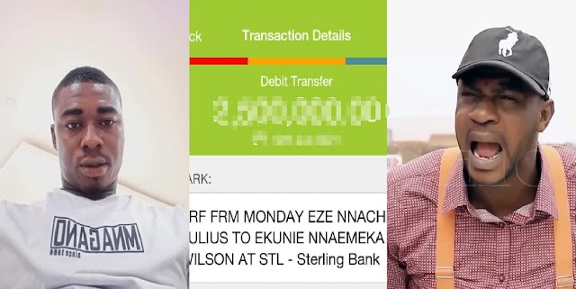 'A Good Name is Better'- Man Says As He Returns ₦2.5m Mistakenly Transferred To His Account