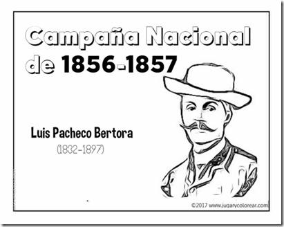 Campaña Nacional  de 1856-1857  pacheco