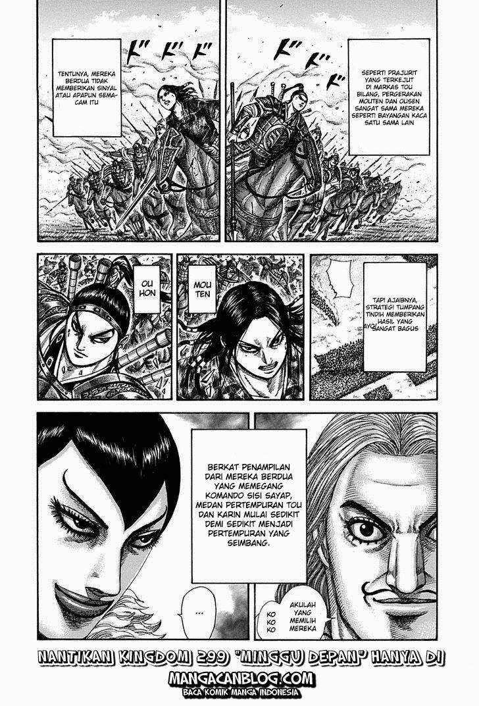 Baca Manga Kingdom Chapter 298 Komik Station