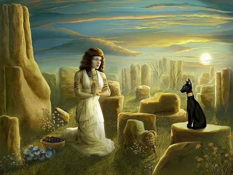 Magical Magician Of Goodness, Egyptian Magic