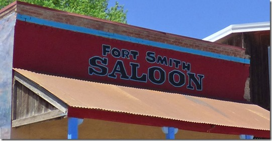 Fort Smith Saloon from True Gritt Movie 1969 version, Ridgway Colorado