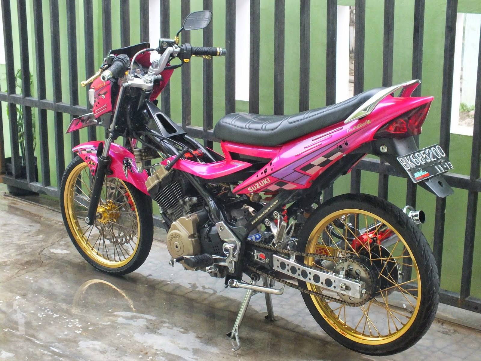 Vega Zr Modifikasi Drag