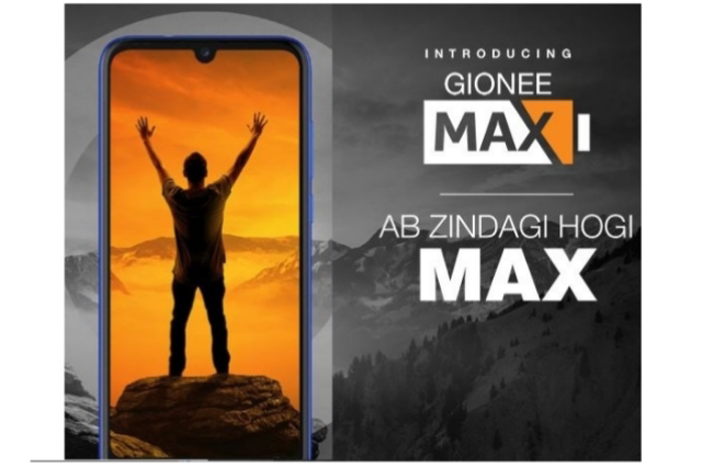 Gionee Max an Ultimate 5000mAh Battery Mobile Phone Price in India