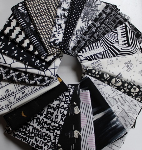 Black and White fabrics