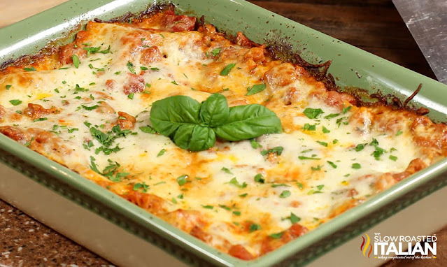 baked easy lasagna recipe