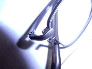 眼鏡フレームのネジを紛失
