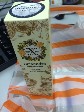DeXandra Inspired Perfume For Me