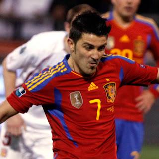 David Villa Spain 2011