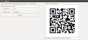 Como crear un código QR para WiFi con GQRCode en Ubuntu - 5