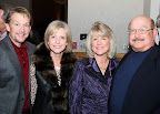 Frank and Brenda Ritz visit with Winnie and Andrew Wayne.