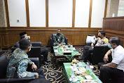 Forkopimda Aceh dan PJU Kodam IM Sambut Pangdam IM, Sesuai Protokol Kesehatan