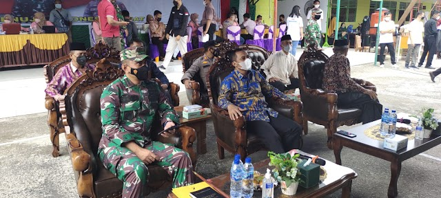 Pondok Pesantren Modern Nurul Hidayah Menjadi Tempat Serbuan vaksinasi TNI-POLRI