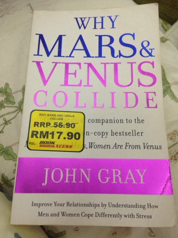 Why Mars And Venus Collide John Gray Mbamoon My Life Reflections