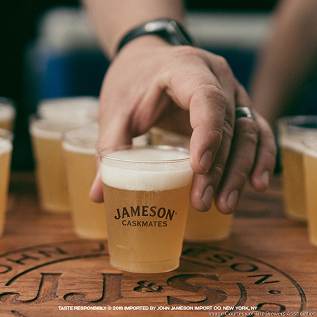 GABF 2018 To Debut Jameson Caskmates Barrel-Aged Beer Garden