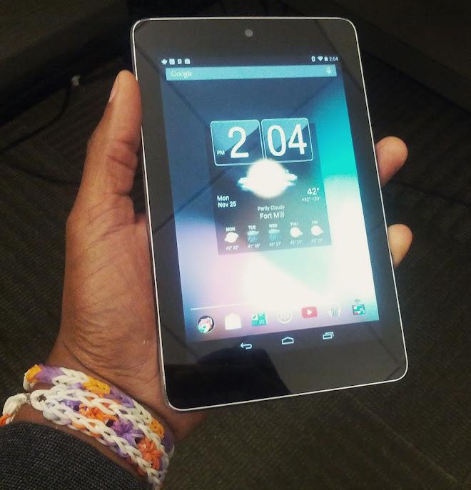 Nexus 7 2012 Giant Hands