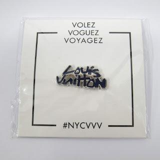 Louis Vuitton X Pintrill Volez Voguez Voyagez Vintage Pin